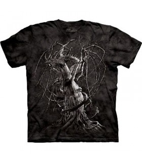 T-Shirt Dragon d'Automne par The Mountain