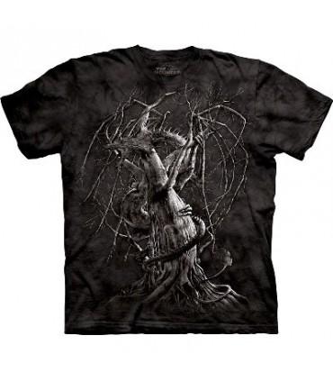 T-Shirt Dragon d'Automne par The Mountain