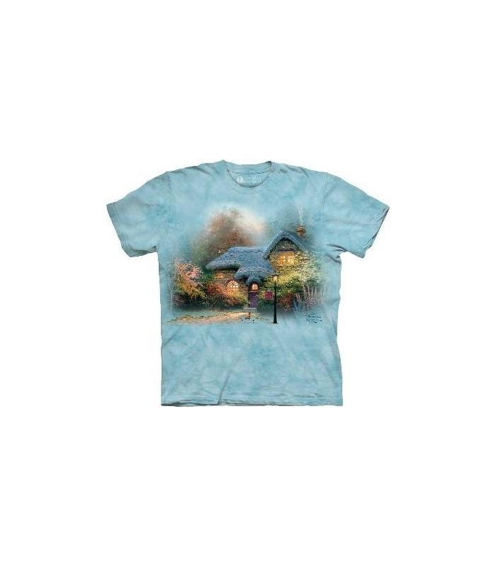 Heather's Hutch - T-shirt paysage par The Mountain