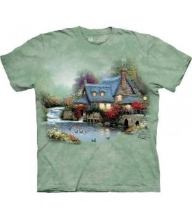 MIller's Cottage - T-Shirt Paysage par The mountain
