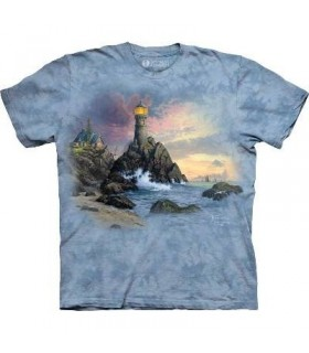 Roche du Salut - T-shirt Paysage par The Mountain
