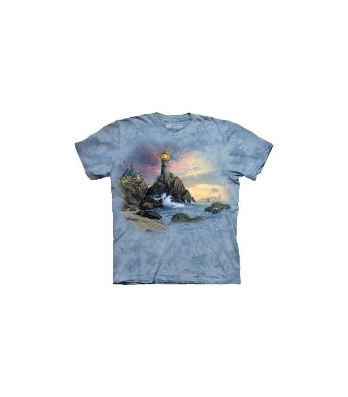 Rock of Salvation - Landscape T Shirt by the Mountain