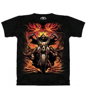 T-Shirt Grim Rider par The Mountain