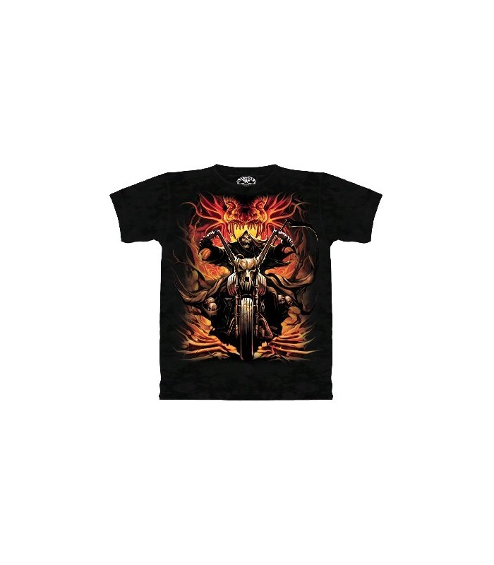 Grim Rider - Fantasy T Shirt by the Mountain