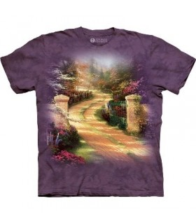 Porte du Printemps - T-shirt jardin par The Mountain