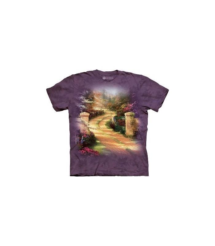 Porte du Printemps - T-shirt jardin par The Mountain