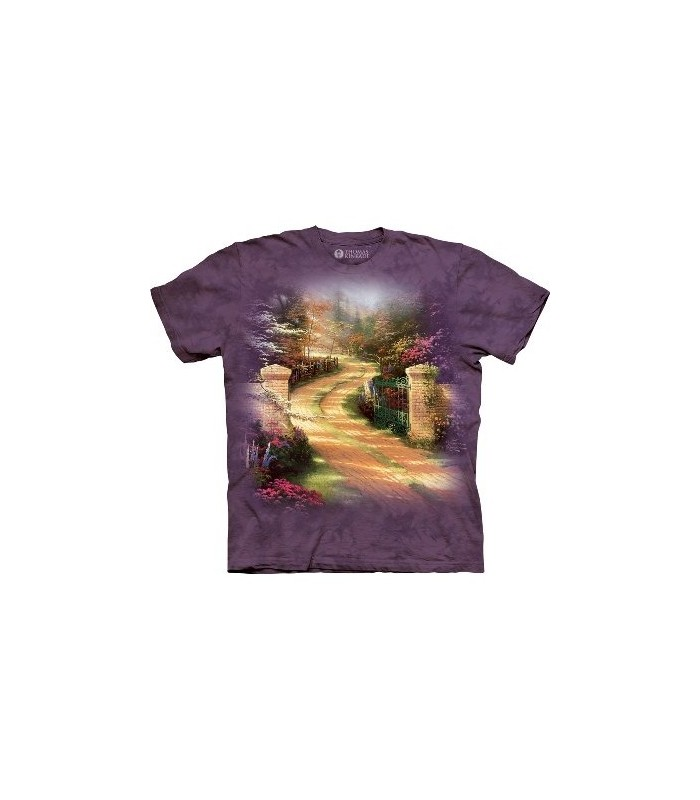 Spring Gate - Garden T Shirt by the Mountain