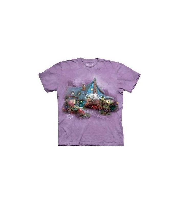 Mon Cottage bien-aimé - T-shirt paysage par The Mountain