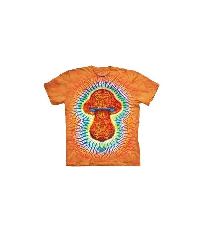 Tie Dye Mushroom - Garden T Shirt by the Mountain