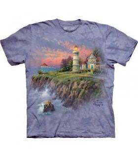Lumière Victorienne - T-shirt paysage par The Mountain