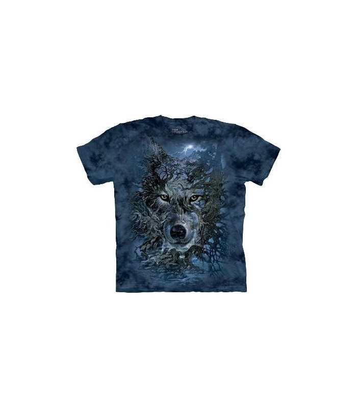 L'arbre Loup - T-shirt loup par The Mountain