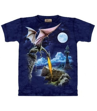 Dragonfire - Dragons Shirt by the Mountain