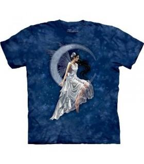 T-Shirt Lune Givrée par The Mountain