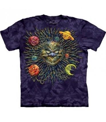 Homme Lune - T-shirt Paysage par The Mountain