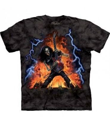 T-Shirt Jouer avec le feu par The Mountain