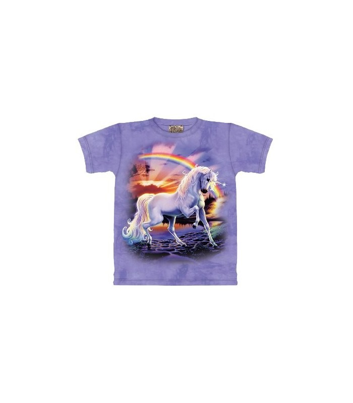 T-shirt Licorne Arc-en-Ciel par The Mountain