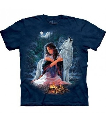 Réunion de jeune fille - T-shirt Indien par The Mountain