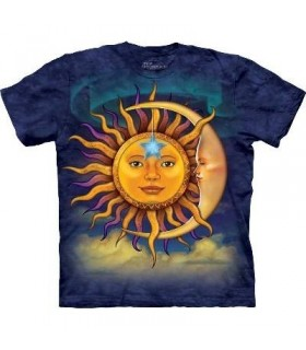 T-Shirt Soleil et Lune par The Mountain