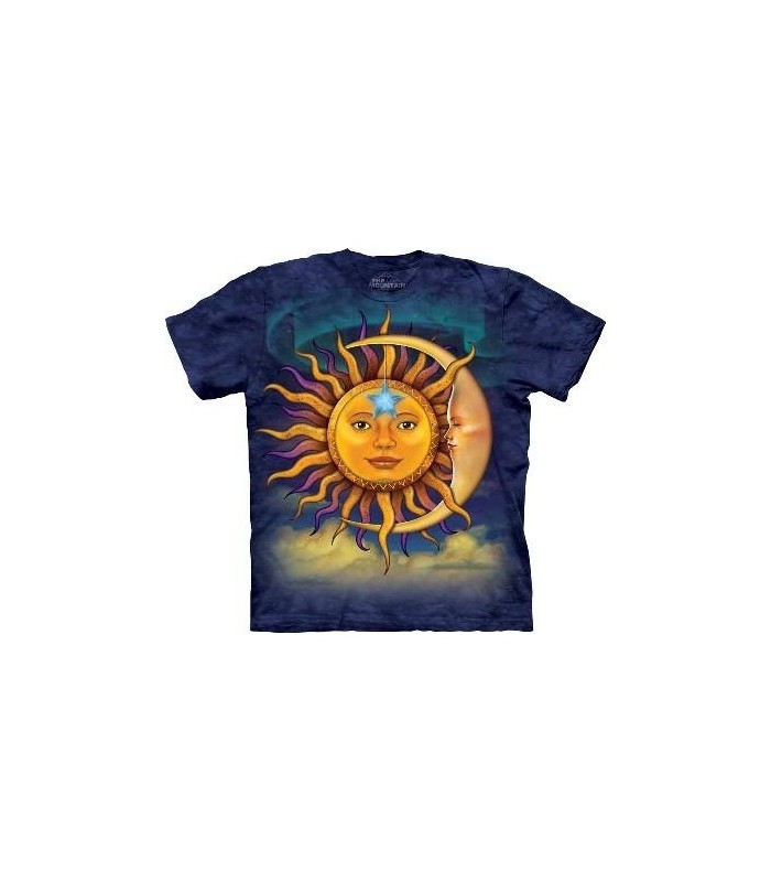 Sun Moon - Nature T Shirt by the Mountain
