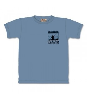 Permis de Pêche - T-Shirt pêche par The Mountain