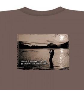 Appel manqué - T-Shirt Pêche par The Mountain