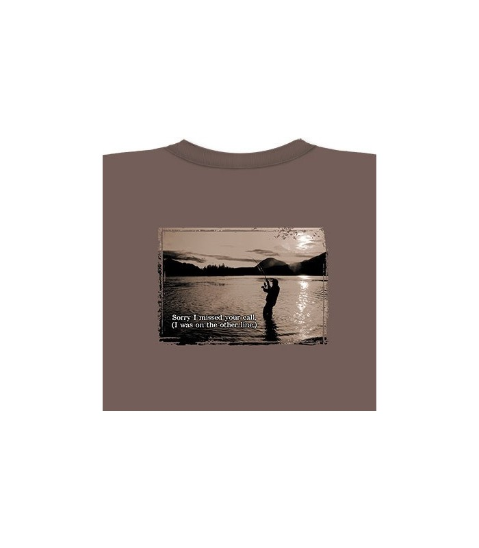 Missed Call - Fishing T Shirt
