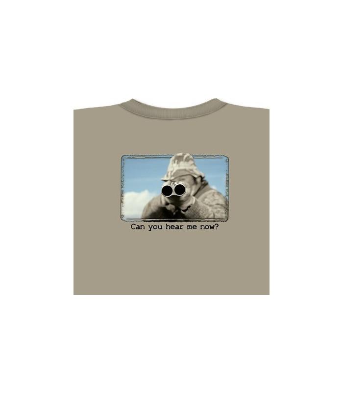 Tu m'entends maintenant ? T-Shirt Chasse par The Mountain
