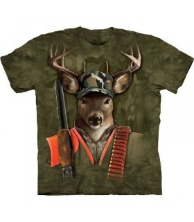 Gazelle Chasseur - T-shirt Manimal par The Mountain