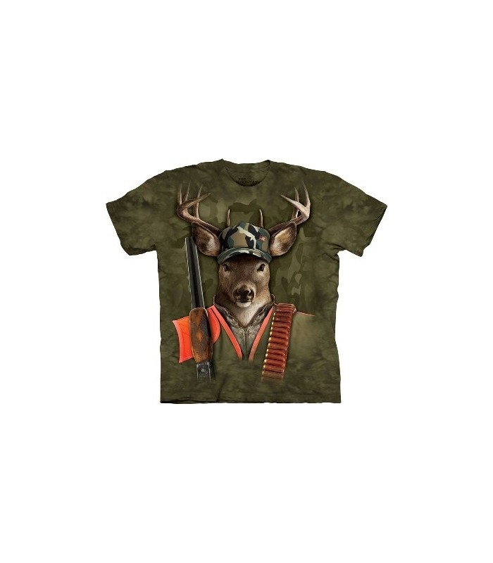 Hunter Buck - Manimals T Shirt by the Mountain