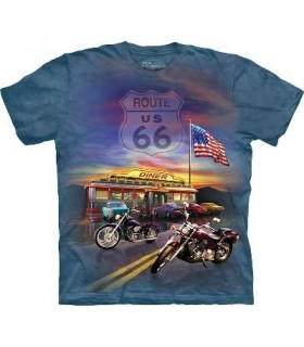 T-Shirt Route 66 par The Mountain
