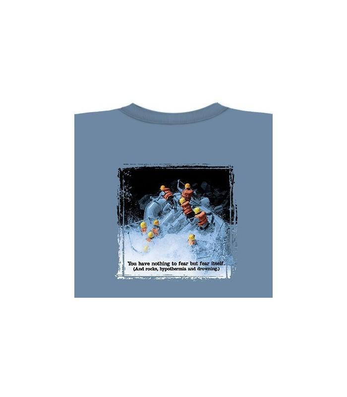 Eau Blanche - T-Shirt Rafting par The Mountain