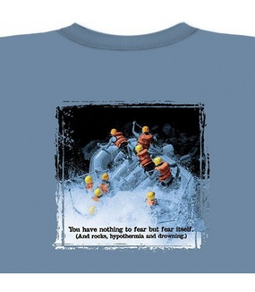 Eau Blanche - T-Shirt Rafting par The Mountain