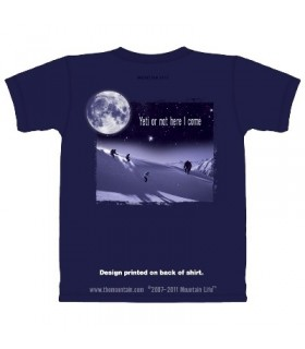 Yeti or Not - Skiing T Shirt by the Mountain Life