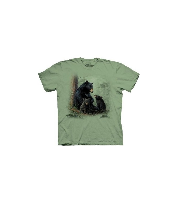 Bear Patch - Animals T Shirt by the Mountain