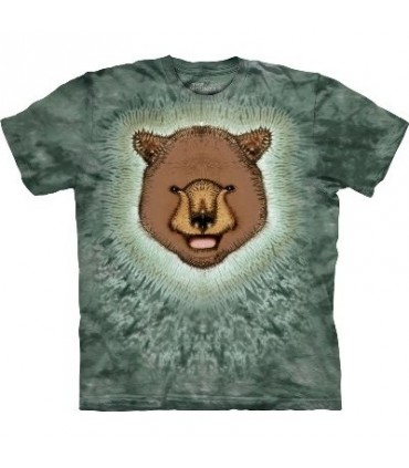 Ours Brun - T-shirt animal par The Mountain