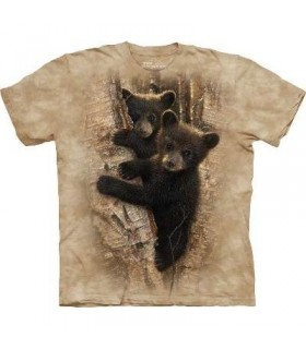Oursons Curieux - T-shirt animal par The Mountain