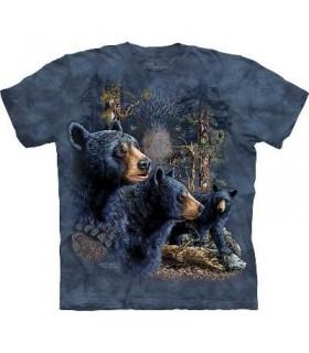 Find 13 Black Bears - Bear T Shirt Mountain