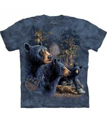 Trouver 13 Ours Noirs - T-shirt Ours The Mountain