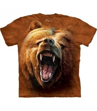 Grognement du Grizzly - T-shirt Ours par The Mountain
