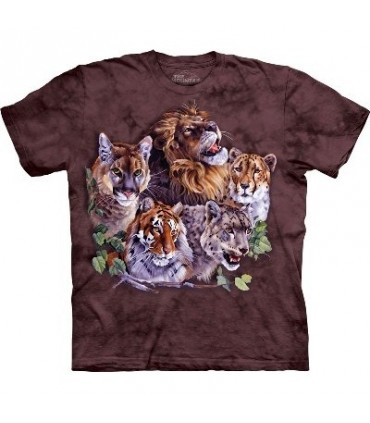 Big Five - Big Cats T Shirt by the Mountain