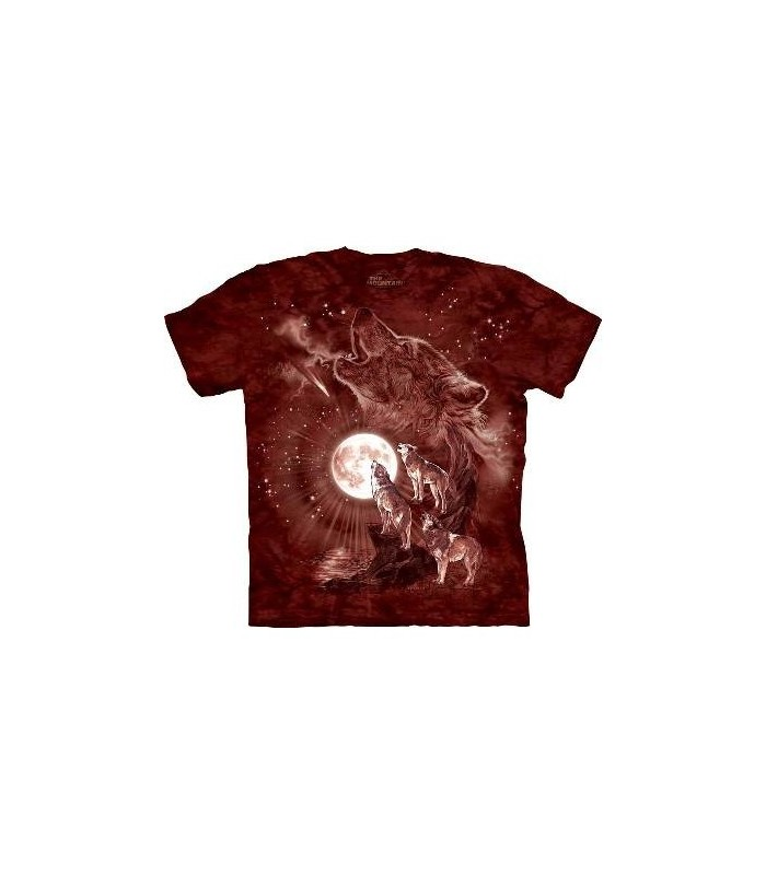 Wolf Moon Concert - Animals T Shirt by the Mountain