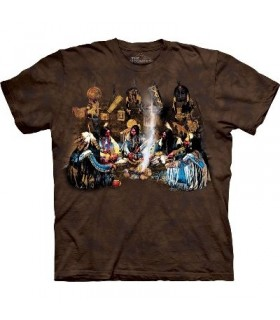 Tribunal Council - Native Americans T Shirt by The Mountain