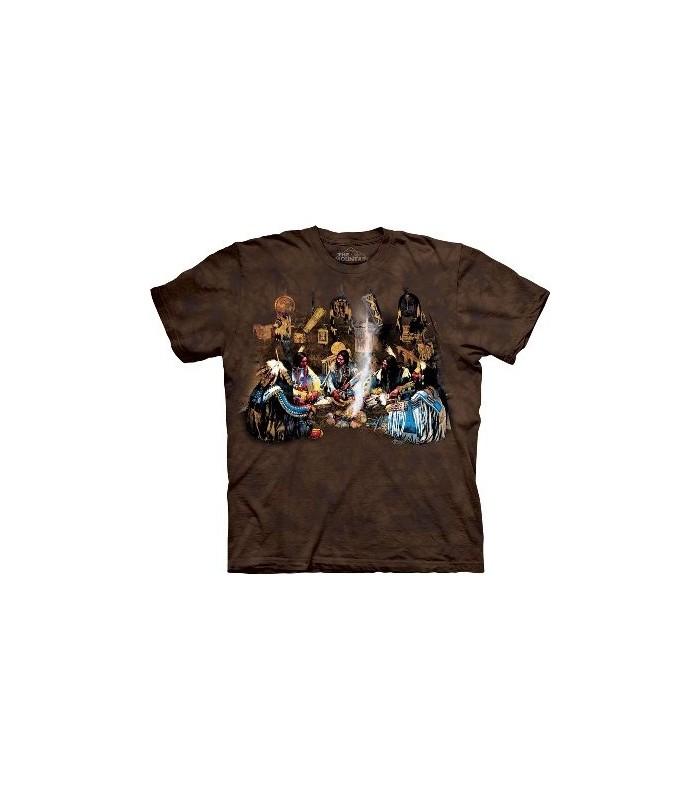 Le conseil - T-shirt Amérindien par The Mountain
