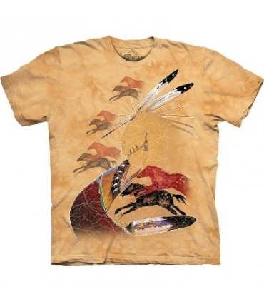 Horse Vision - Native Americans T Shirt by the Mountain