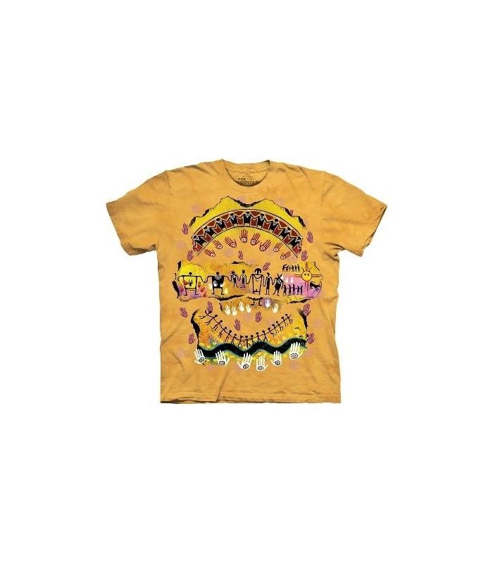 T-shirt nous sommes tous Amérindiens par The Mountain