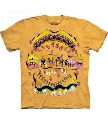 We are all Related Native Americans T Shirt by The Mountain