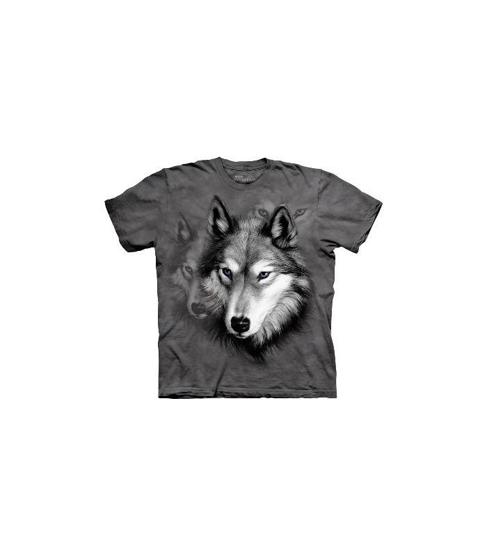 Portrait de loup - Tshirt animal The Mountain