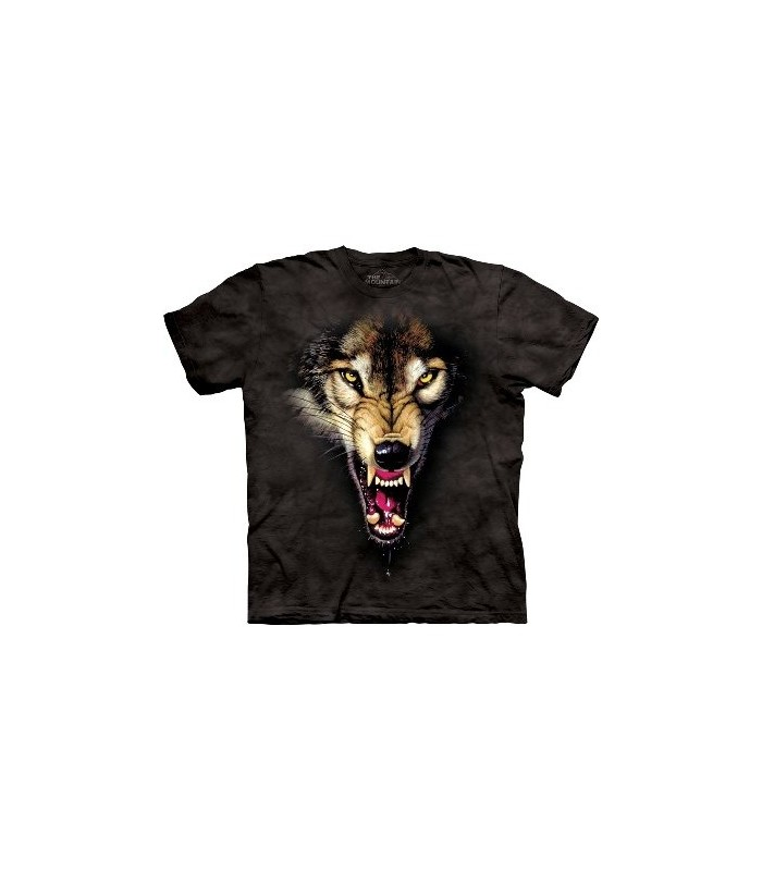 The Hunter - Wolf T Shirt by the Mountain