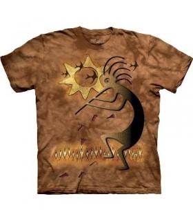 Glyphe de la Fertilité - T-shirt amérindien The Mountain