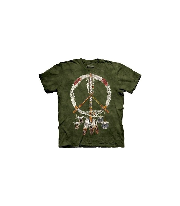 Peace Pipes - Native Americans T Shirt by the Mountain